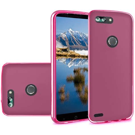 for zte sequoia blade z max z982 tpu rubber phone skin cover ebay