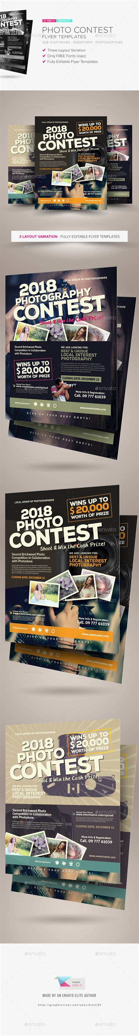 Photo Contest Flyer Template by Best Photo Contest Flyers 187 Tinkytyler Org Stock