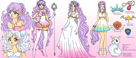 sailor moon oc ref sheet kiku nova by sailor serenity on