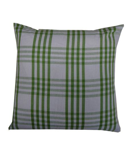 Adt Background Check Adt Saral Adt Saral Green Cotton Checks Cushion Cover Best Price In India On 31st