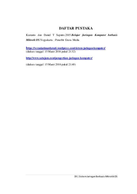 contoh laporan jaringan komputer contoh laporan pkl teknik informatika pdf contoh aneka