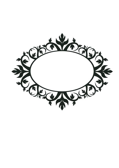 clipart cornice ornament frame clipart best