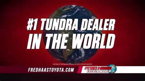 Fred Hass Toyota World Fred Haas Toyota World Annual Clearance Event Tundra