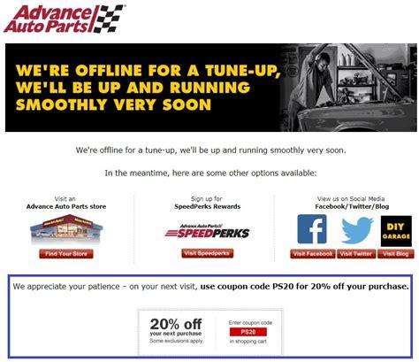 Advance Auto Parts Gift Card Discount - 25 off advance auto parts coupon code 2017 promo code dealspotr