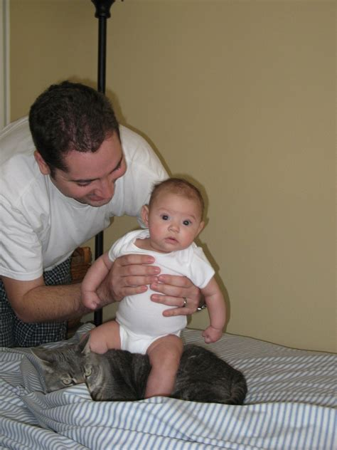 Tammypants: Cat and baby torture