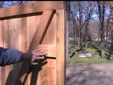 build  custom cedar privacy walk gate youtube