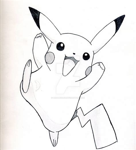 Drawing O F by Drawings Of Pikachu How To Draw Pikachu Easy