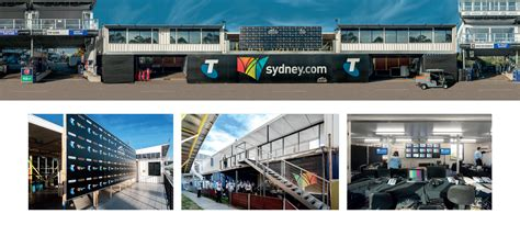 V8 Supercars Media & Race Control Building   Shipping