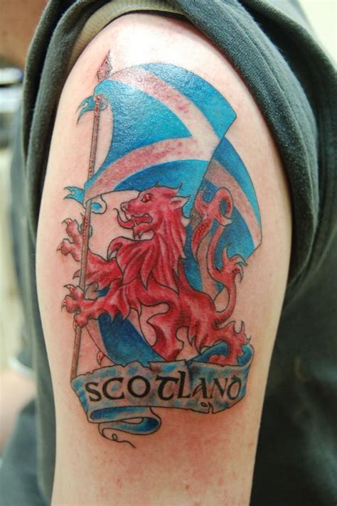 scottish flag tattoo designs 18 scottish tattoos on shoulder