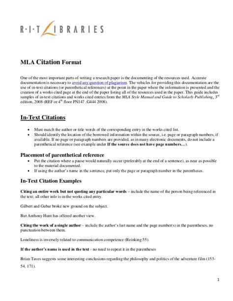 Mla Format Group Essay   mla format group paper images