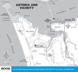 map of astoria oregon and vicinity