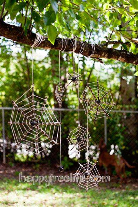 super easy diy outdoor halloween decorations