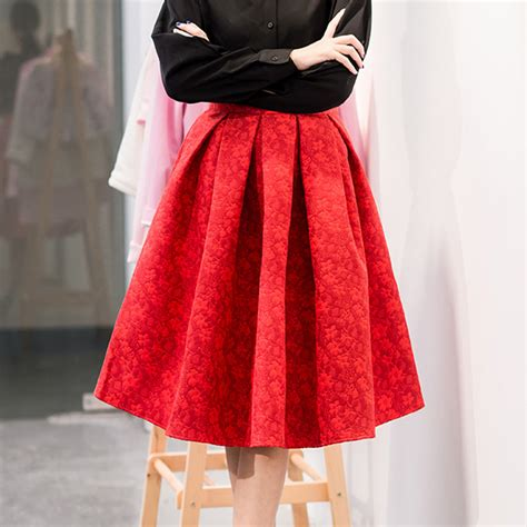 aliexpress buy new faldas 2015 summer style vintage skirt high waist work wear midi skirts