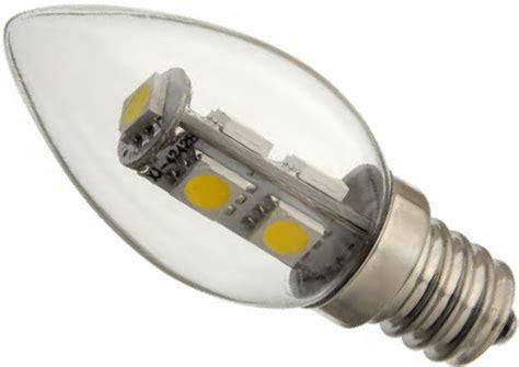 Led Chandelier Ca7 Bulb E12 Candelabra Base Blunt Tip C7 Led Light Bulbs