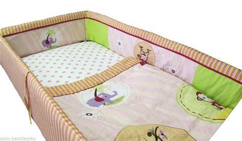 Pink Jungle Crib Bedding by Custom Baby Bedding Jungle Monkey Pink 14 Pcs Incl