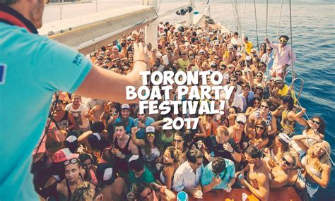 party boat gambler toronto boat party festival 2017