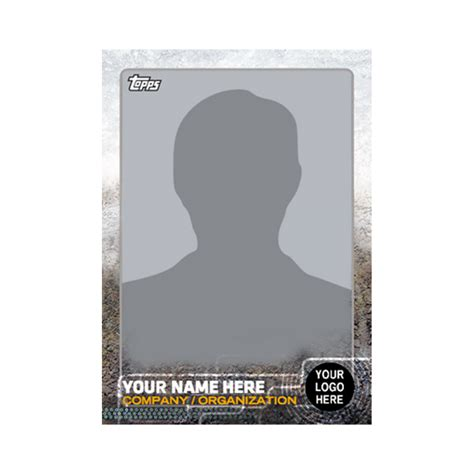 create your own hockey card template customizable trading card 2015 topps series one baseball