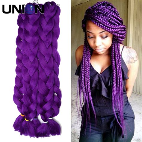 how many bags of hair for box braids kanekalon jumbo braids xpression braiding hair 10pcs box
