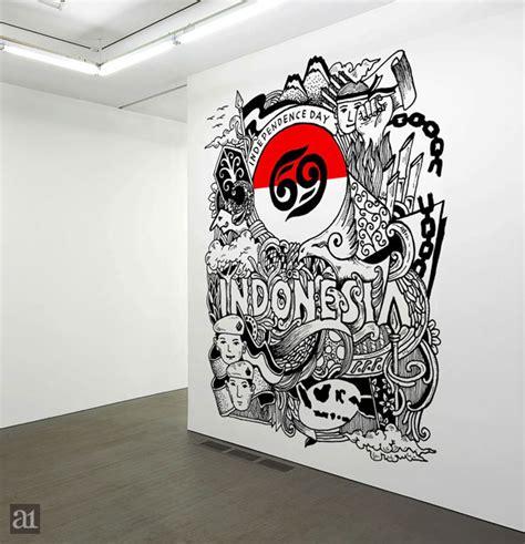 doodle pahlawan cara saya merayakan hut ri ke 69 arwanotes