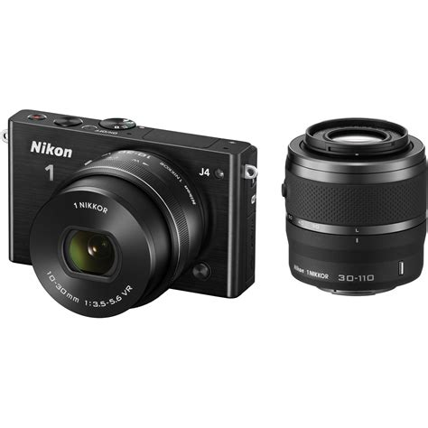 nikon 1 j4 mirrorless digital with 10 30mm and 27704 b h