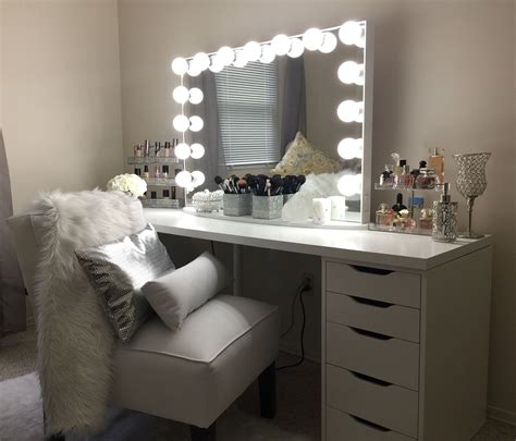 Ikea Bedroom Vanity Unit by Vanity Ideas Ikea Linnmon Tabletop With 2 Ikea Alex 5