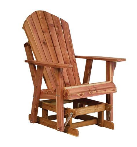 adirondack glider bench adirondack glider chair plans free