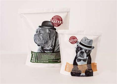 personified pup branding vitale dog food packaging