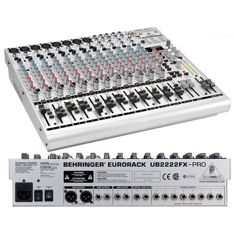 Mixer Behringer Ub2222fx behringer eurorack ub2222fx pro image 522857 audiofanzine