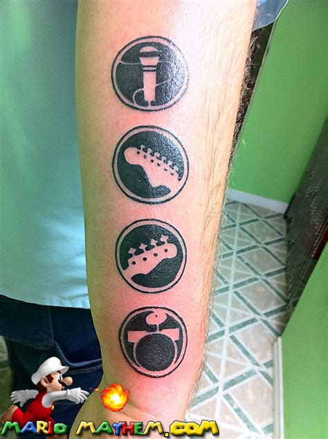 video game tattoo tattoos