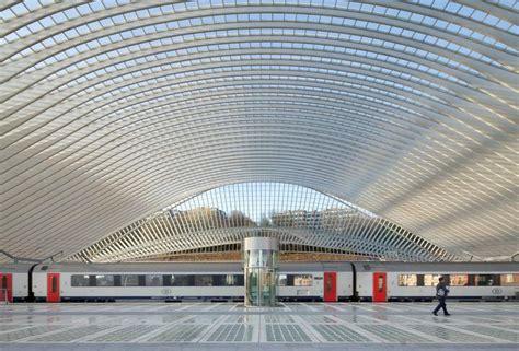 Wordlesstech Li 232 Ge Guillemins Station By Santiago Calatrava