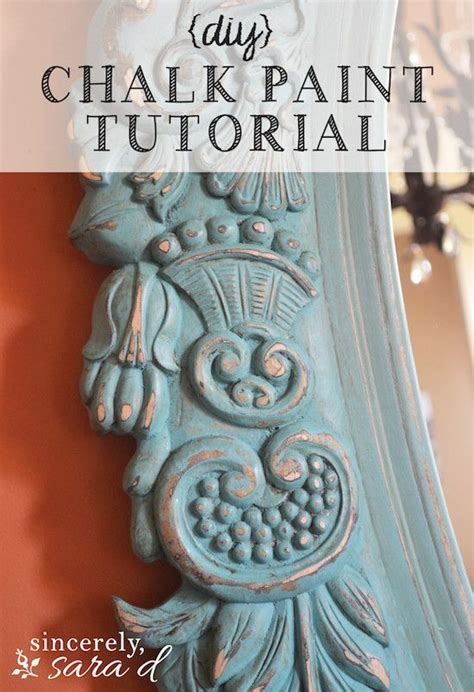 diy chalk paint tutorial mirror chalk paint tutorial awesome furniture and diy