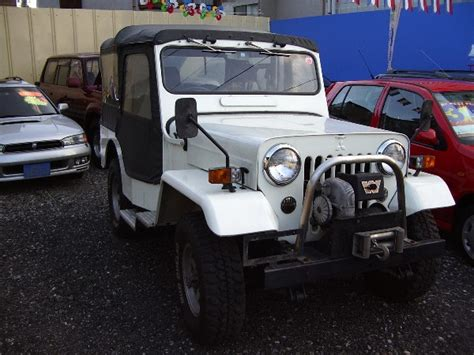 mitsubishi jeep for sale mitsubishi jeep turbo j53 for sale japan car on track