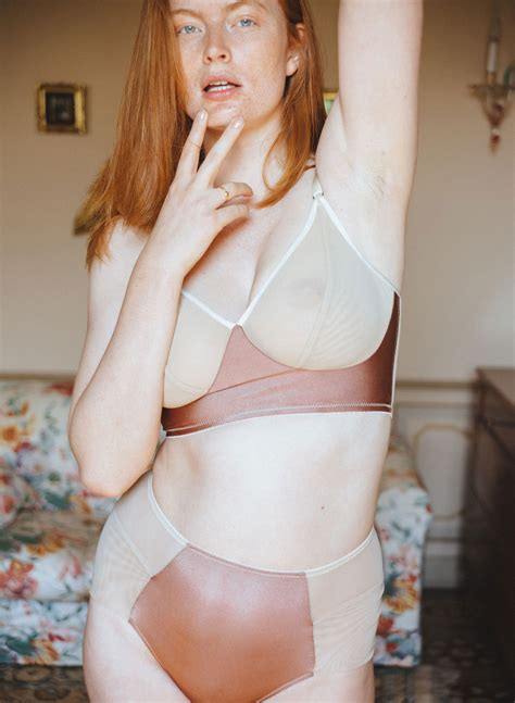 editorial  lily cummings fortnight lingerie