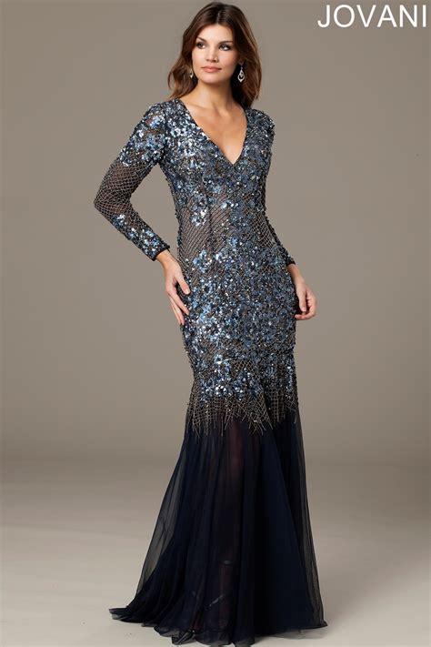 jovani  evening dress sheer