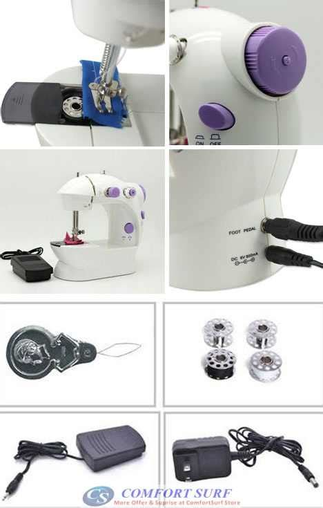 Mesin Jahit Mini Portable New Version Sewing Machine Berkualitas original jia yi mini portable clothes sewi end 1