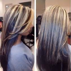 chocolate hair with platinum highlight pictures platinum highlight on gray hair photo dark brown hairs dark brown hairs