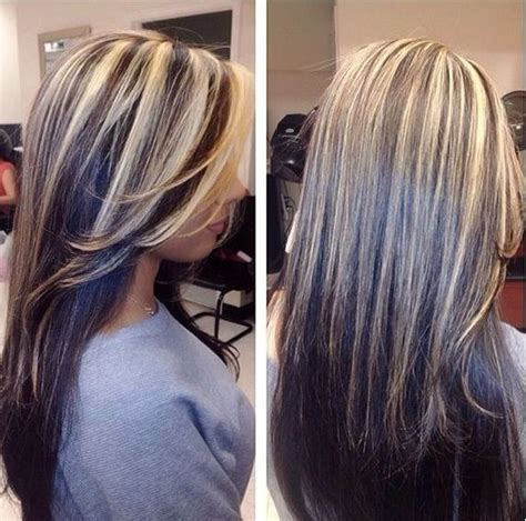 highlighting dak brown hair with blond highlights dark brown hair with blonde highlights hairzstyle com