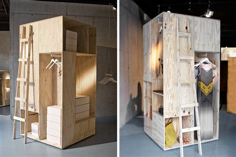 Wardrobes Stores by Shipping Crates Inspired These Simple Wooden Wardrobes By