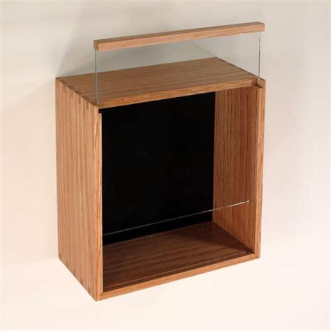 Frame Kacamata Wanita 622 Box simple glass display shadow box design with slide up