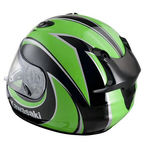kawasaki motocross helmets hjc kawasaki zx r motorcycle road helmet green xl ebay