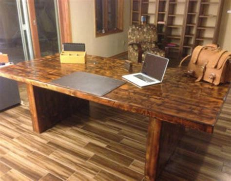 Presidential Desks by Reclaimed Wood Home Office Desks Recycled Things