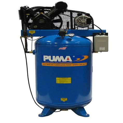 80 gal 6 5 hp electric 2 stage with magnetic starter air compressor tn 6580vm the home depot