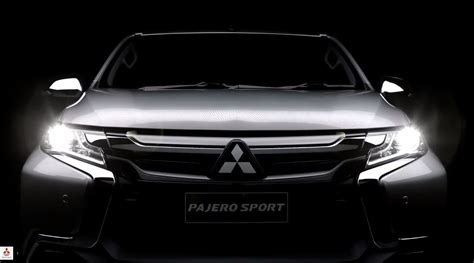All New Pajero Sport Grill Depan Jsl Front Grille Trim Blacktivo 2016 mitsubishi pajero sport pricing leaked