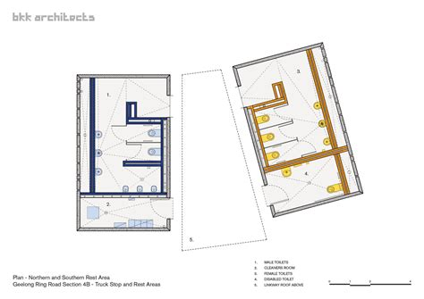 area of a floor plan gallery of geelong truckstop bkk architects 12