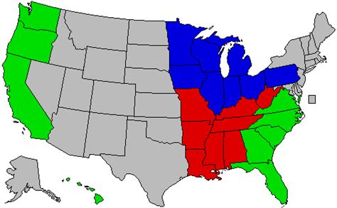 Interior Region by Do You Agree With The Us Census Bureau Quot Region