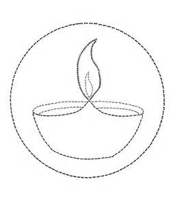 diwali diya coloring coloring pages