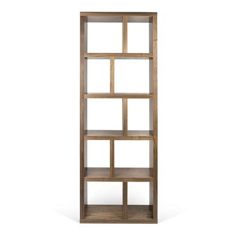 etagere 70 cm temahome 201 tag 232 re biblioth 232 que quot berlin quot 5 niveaux 70cm noyer
