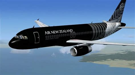 Black Airbus air new zealand s new all black livery