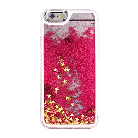 Water Glitter Iphone 7 Plus wholesale iphone 7 plus liquid glitter shake dust pink