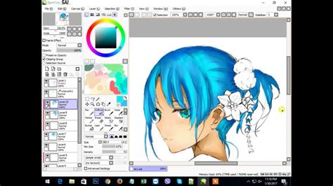 paint tool sai 2017 speed paint with mouse edit 2017 paint tool sai